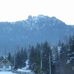 Muntele Ceahlau pe timpul iernii
