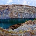1_3 Lacul din fosta cariera de bazalt din Racos
