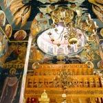 06 Manastirea Dridu - Interior - Candeabru