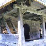 Manastirea Lapusna_Biserica din lemn_detaliu