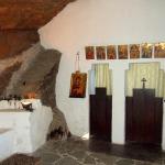 Manastirea Piatra Scrisa interor