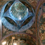 Manastirea Voronet interior