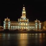 Palatul-Prefecturii-Targu-Mures-noaptea