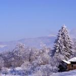 Priveliste de iarna in Campulung Moldovenesc